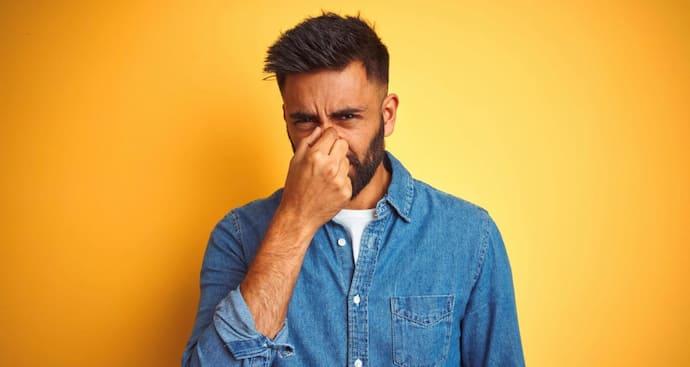 コンプレッション系アンダーウェアの臭い原因