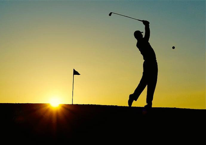 ゴルフは筋肉痛の場所