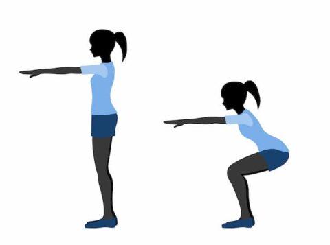 反り腰に効くスクワットトレーニング